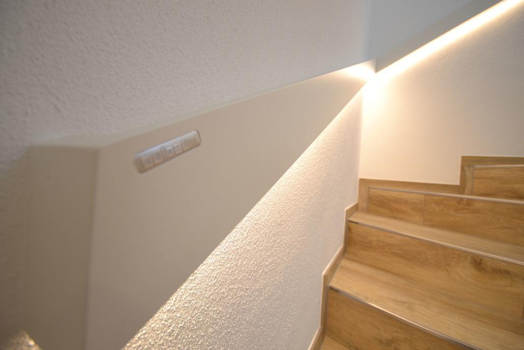 Berühmt Handlauf LED - ein Projekt der Kategorie Innenausbau von bulbaum LW53