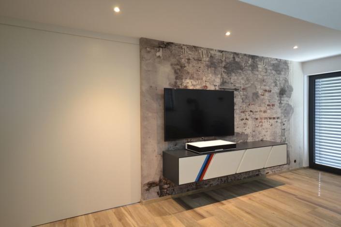 TV-Möbel M Power: Ein bulbaum Produkt ist immer eine qualitativ hochwertige Einzelanfertigung. bulbaum hat die kreative Idee und das perfekte Handwerk für jeden Kundenwunsch.