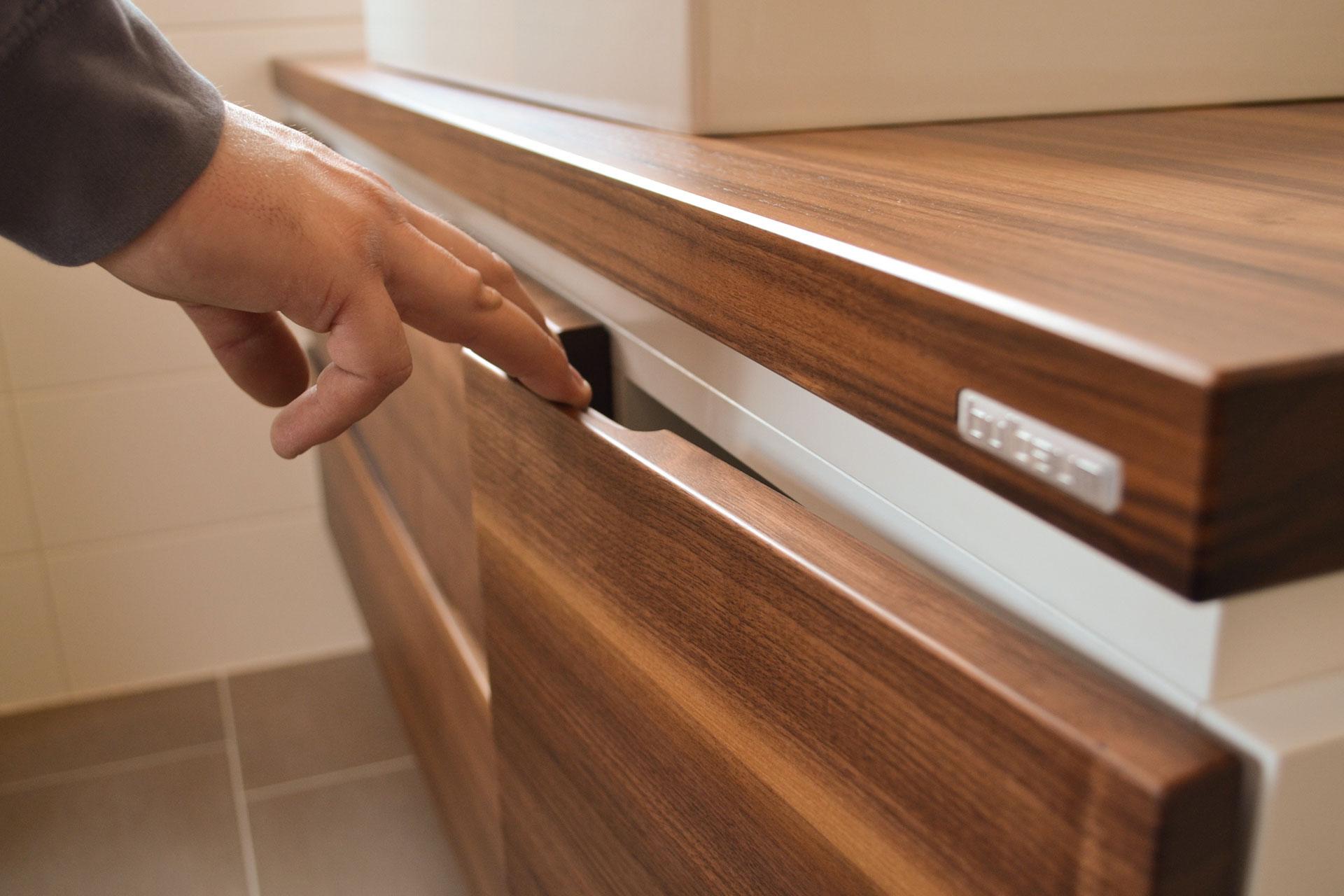 Holz im Bad - ein Projekt der Kategorie Badmöbel von bulbaum