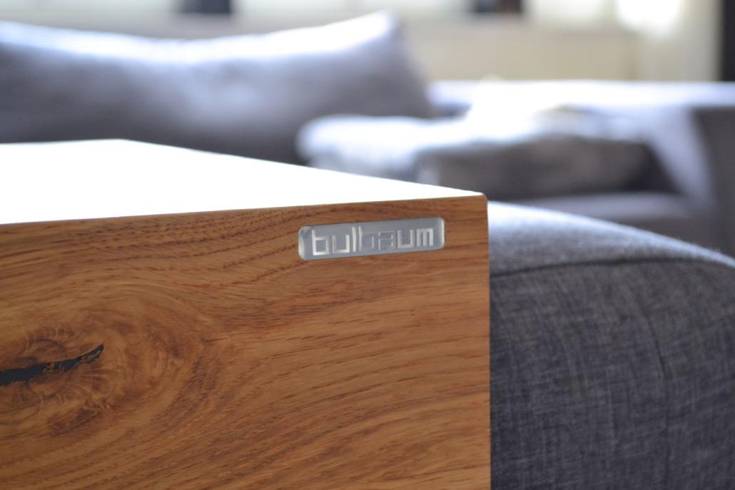 Flatline: Ein bulbaum Produkt ist immer eine qualitativ hochwertige Einzelanfertigung. bulbaum hat die kreative Idee und das perfekte Handwerk für jeden Kundenwunsch.